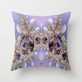 Baubles Throw Pillow
