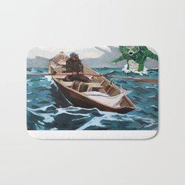 "Winslow Homer's ""Storm Warning"" Revisted Bath Mat"