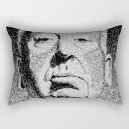 Fingerprint - Hitchcock Rectangular Pillow