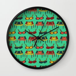 Dancing Around The House Wall Clock