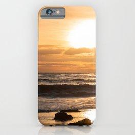 Sunset at El Matador Beach, Malibu, California iPhone Case