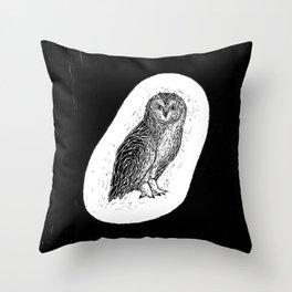 Philipp Martins Owl Throw Pillow