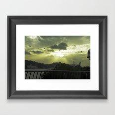 Heavenly Ride Framed Art Print
