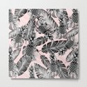 Leaves and pineapples pattern by mmartabc