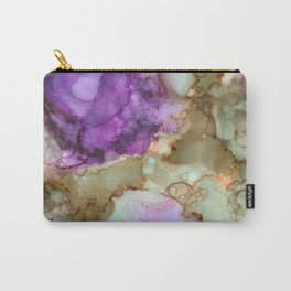 NEW Alcohol Ink 'Iris' Carry-All Pouch