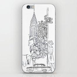 Newyorkers 2 iPhone Skin