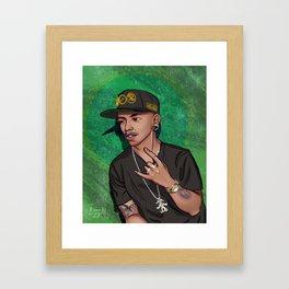 Jimbo Green Framed Art Print