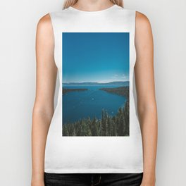 Lake Tahoe V Biker Tank