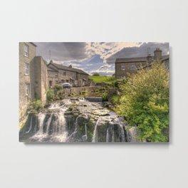 Hawes Waterfall  Metal Print