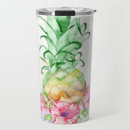 Hawaiian Pineapple Travel Mug