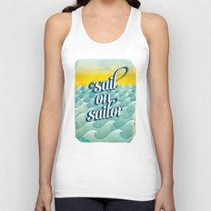 Sail on sailor, Unisex Tank Top