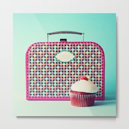 Yummy Lunchbox Metal Print