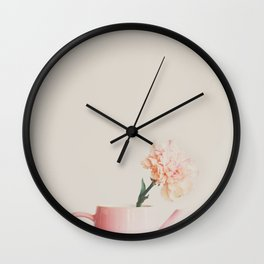 pretty in pink ... Wall Clock