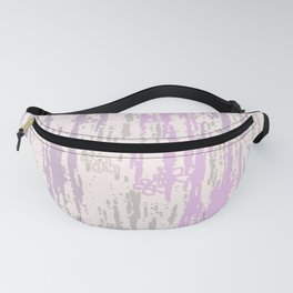 Purple Grey Colors Gradient pattern. pastel, modern, decor, Society6 Fanny Pack