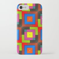 frames iPhone & iPod Cases featuring Colorful Frames by Sara Dowling