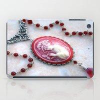 agate iPad Cases featuring agate,agate cameo,gemstone by ira gora