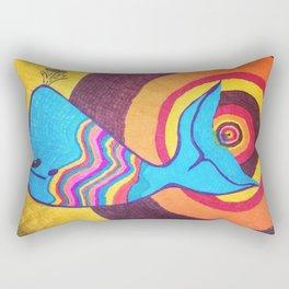 Bruce The Whale Rectangular Pillow
