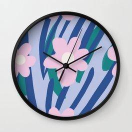 Flower Market Amsterdam Wall Clock