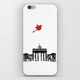 Brandenburg Gate from Berlin City  iPhone Skin
