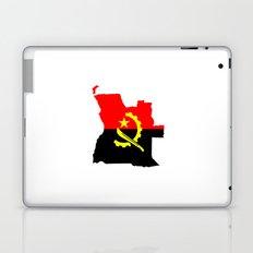 Angola flag map Laptop & iPad Skin
