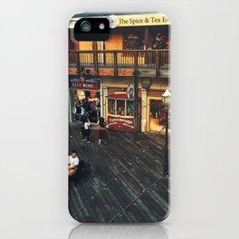Fisherman's warf iPhone Case