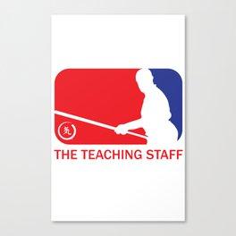 The Teaching Staff Canvas Print