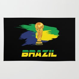 World cup Brazil Rug