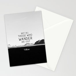 Not All Who Wander Are Lost... Stationery Cards