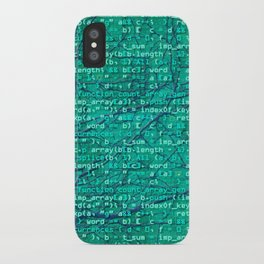 code_forest iPhone Case