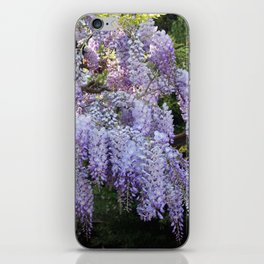 Whimsical Wisteria iPhone Skin