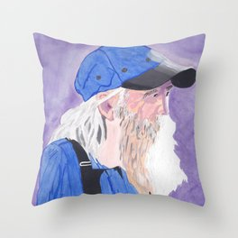 A Tennessee Farmer, My Silent Hero Throw Pillow
