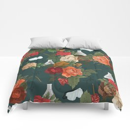 Chemistry Floral Comforters