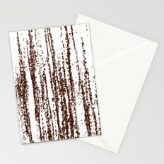 Birch Winter Sepia Stationery Cards