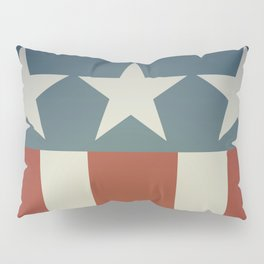 Three Starred Spangle Banner Pillow Sham