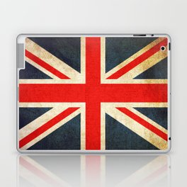 Vintage Union Jack British Flag Laptop & iPad Skin