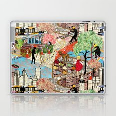 Urban Sightings Collage Detail 1 Laptop & iPad Skin