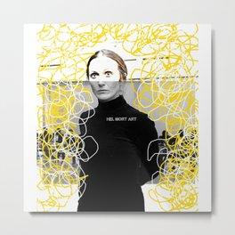 Woman N9 Metal Print