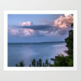 Lake Erie Art Print