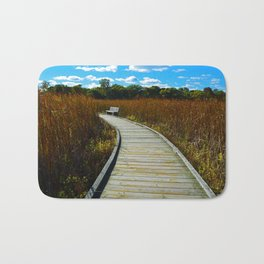 Point Pelee National Park Boardwalk in Leamington ON Canada Bath Mat