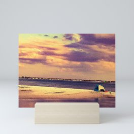 Beach Dreaming Mini Art Print