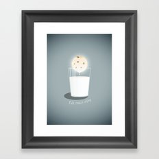 Full cookie rising Framed Art Print