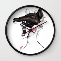 The Masquerade: The Wolf Wall Clock
