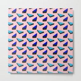 Geometric Candy Metal Print