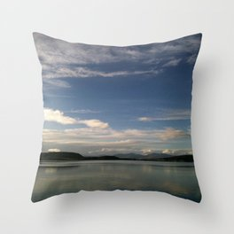 Oban to the Islands Throw Pillow