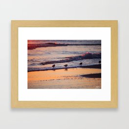 Colorful Pipers Framed Art Print