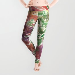 Frozen Foliage Leggings