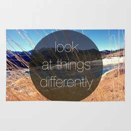 Look at Things Differently Rug