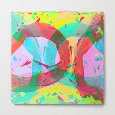pastel color rings  Metal Print
