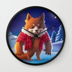 Little Werewolf Wall Clock