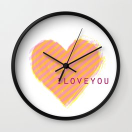 love ya Wall Clock